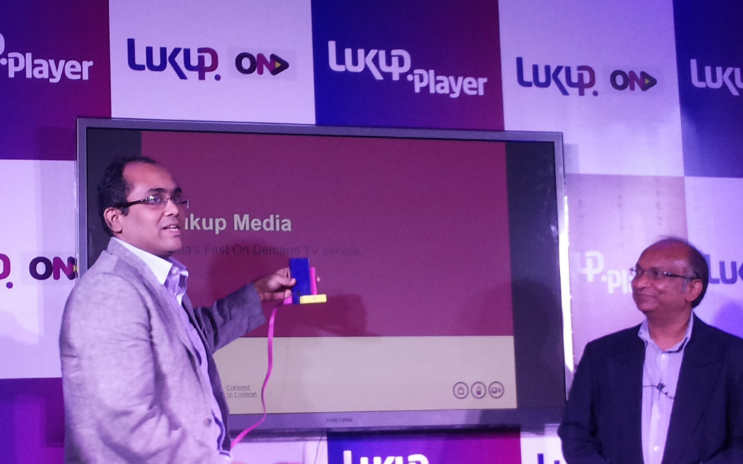 Lukup Launches India's First Fully On-Demand Television Service